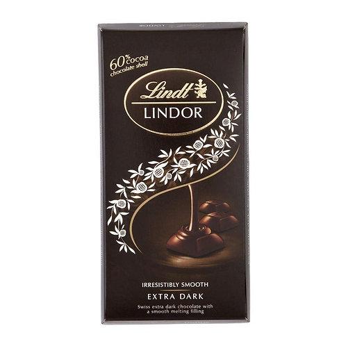 Lindt lindor extra dark chocolate irresistibly smooth (100 gm)