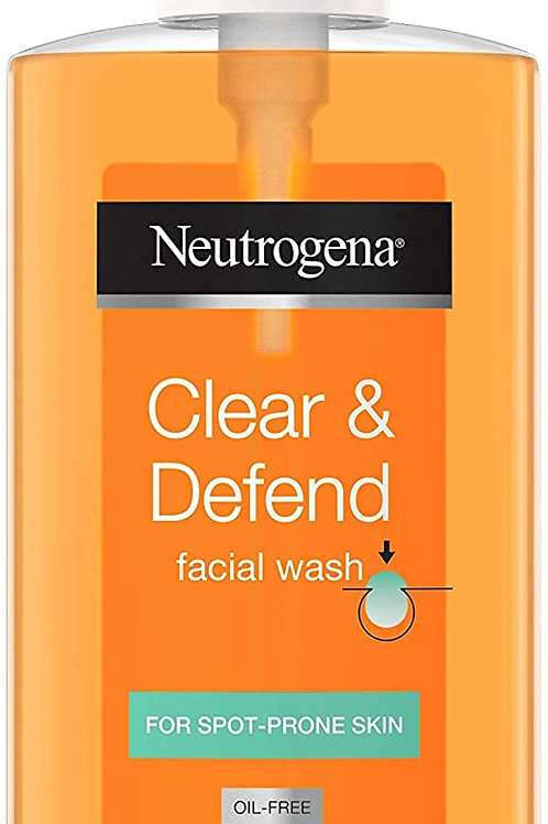 Neutrogena Clear and Defend Facial Wash- 200 ml