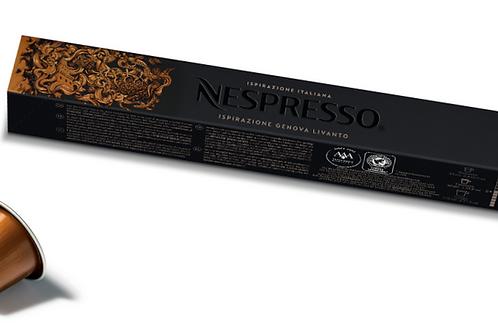 Nespresso Ispirazione Italiana: Genova Livanto 10 capsules