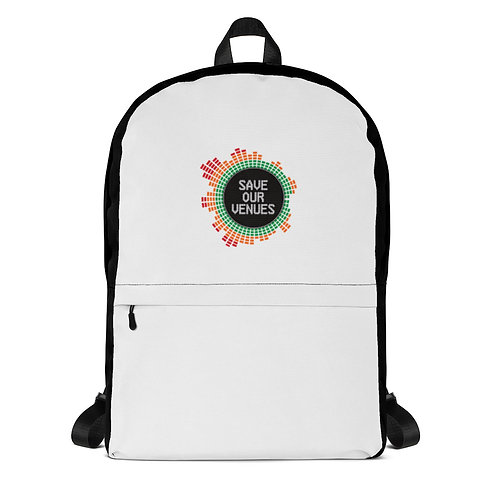 Save Our Venues Backpack