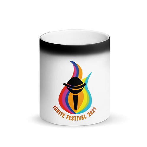 IGNITE Matte Black Magic Mug