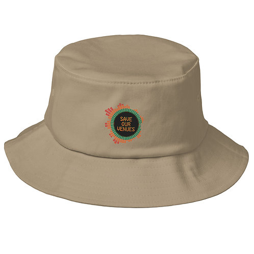 Save Our Venues Old School Bucket Hat