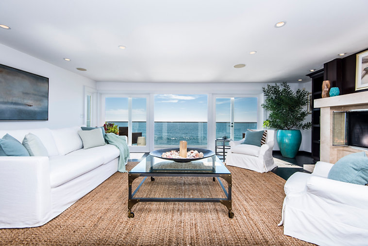 Malibu home staging