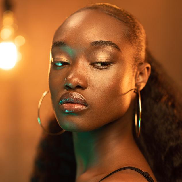Glowy Skin photoshoot