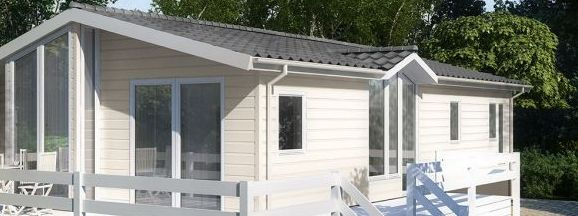 Caravan external cladding