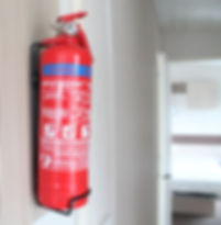 caravan fire extinguisher