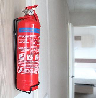 caravan fire extinguisher