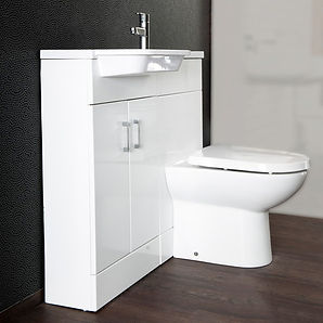 caravan static bathroom cabinet