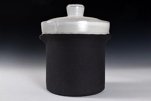 large fermenting crock