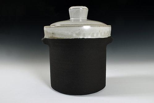 small fermenting crock