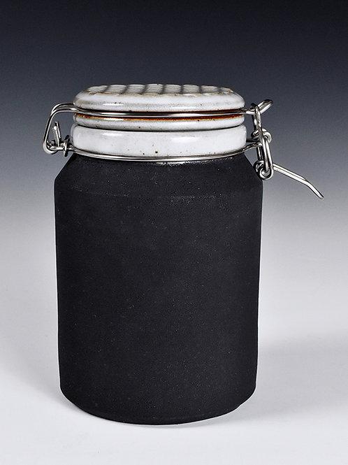 medium bail jar (black)