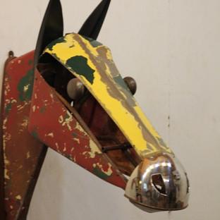 Leonard Streckfus, Horse Head III, 2016,