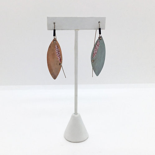 Falling Leaf Earrings - Cooper & Sage