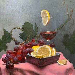 Wine and Lemon