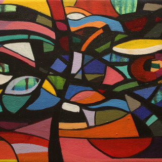 Study for Stained Glass