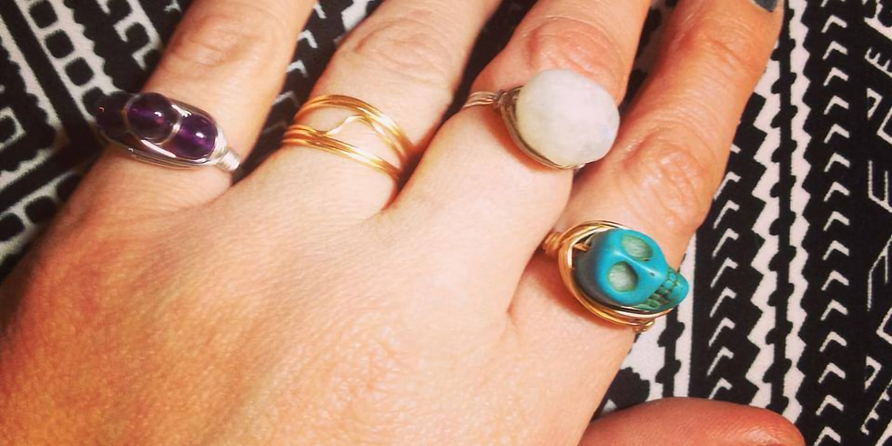 Private Wire Wrapped Rings Workshop