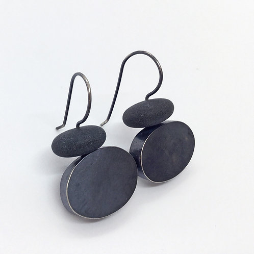 Hollow Oval Earrings