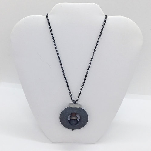Rir-Heavy Chain Necklace