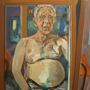 Self Portrait with Mastectomy