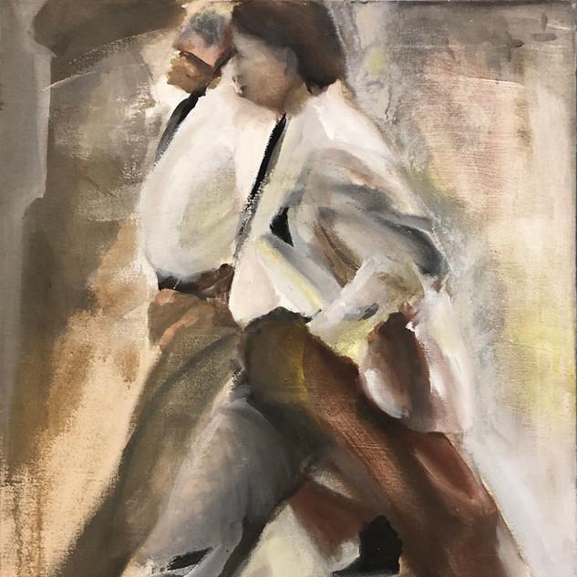 Ruth Pettus 13 INV079 Acrylic on Canvas 27 x 21 inches Inquire