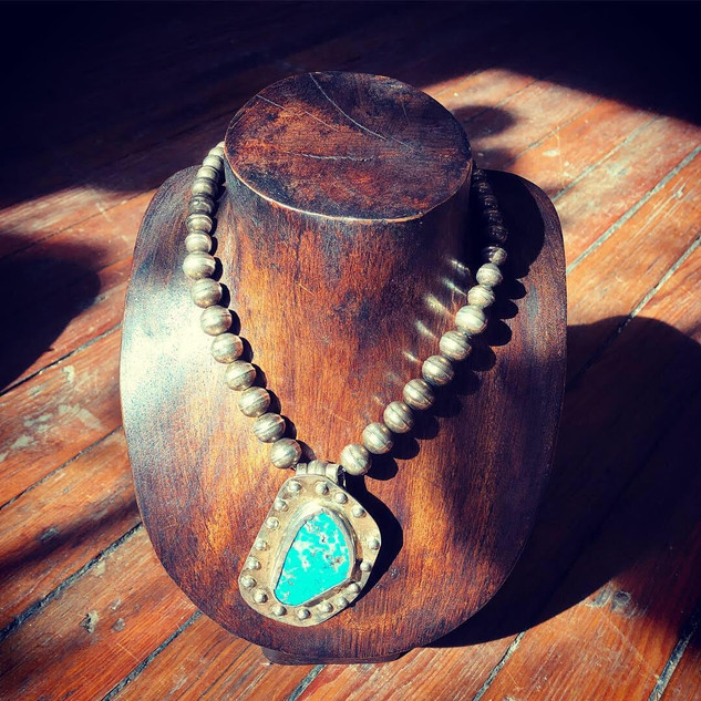 Navajo Sterling & Turquoise