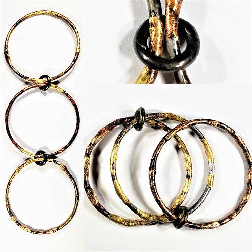 Steel, bronze & copper