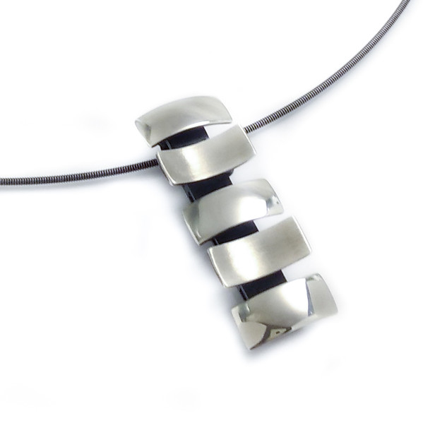 Close-Up of 5 Rectangle Pendant