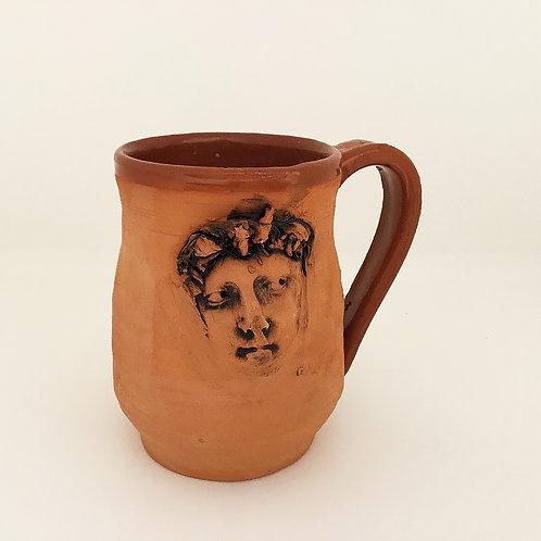 Terracotta Mug, Face 2