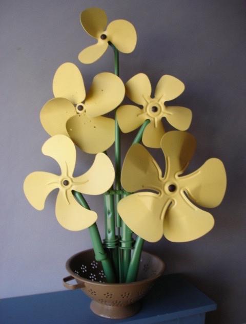 Leonard Streckfus, Fan Flowers, 2008, 32