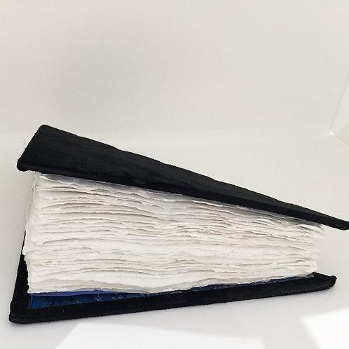 Black Felt Triangle-Shaped Journal