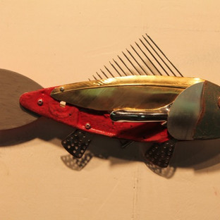 Leonard Streckfus, Small Gold Feather Fi