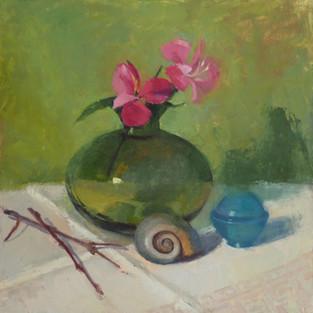 """""""Vase, Snail, Little Blue"""""""