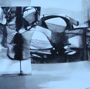 Composition in Black, 3