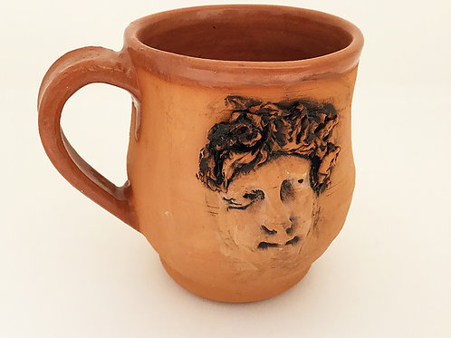 Terracotta Mug, Face 1