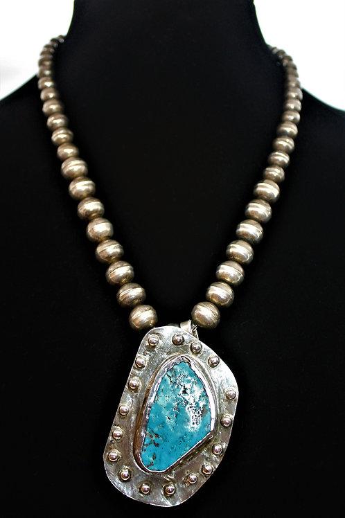 Sterling Silver Navajo Necklace