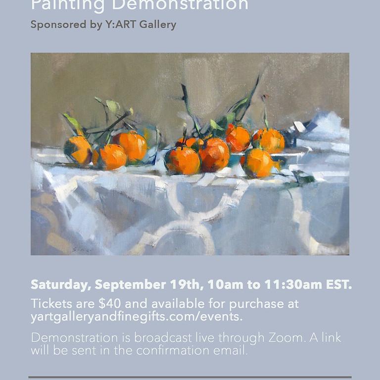 Maggie Siner Painting Demo
