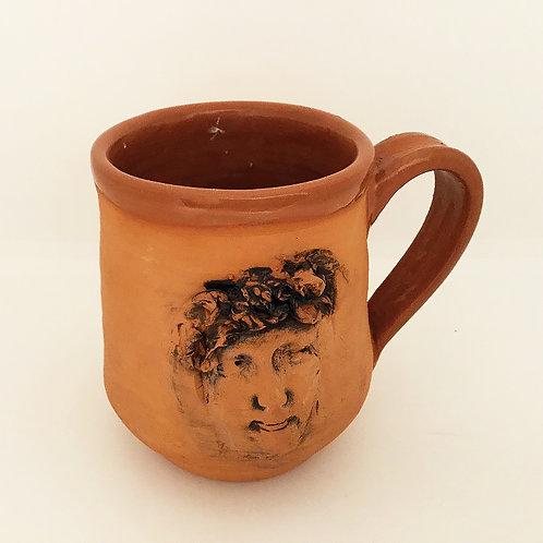 Terracotta Mug, Face3
