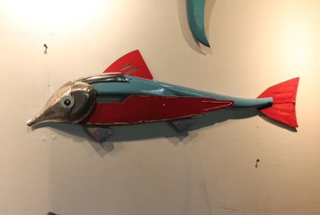Silverplate Blueback Fish