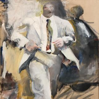Ruth Pettus 14 INV053 Acrylic on Canvas 36 x 30 inches Inquire