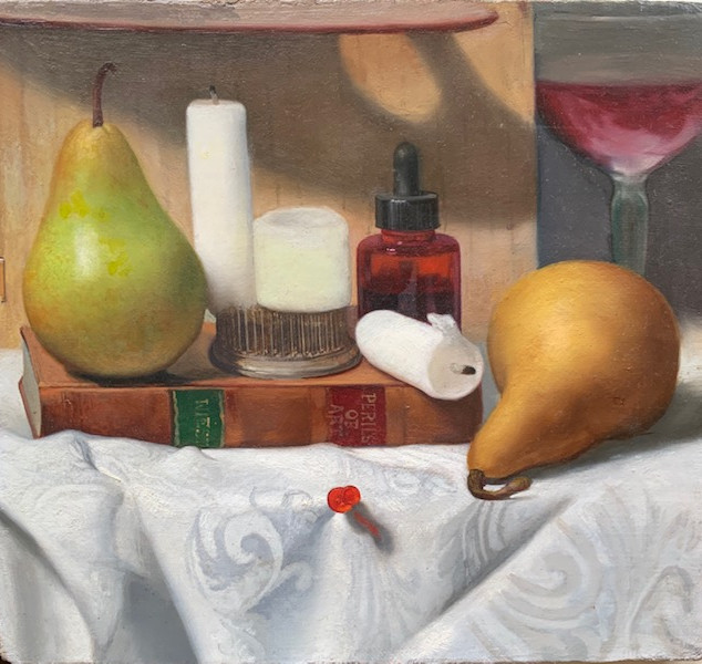 Pears and Candles
