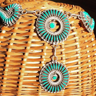 Zuni Sterling & Turquoise
