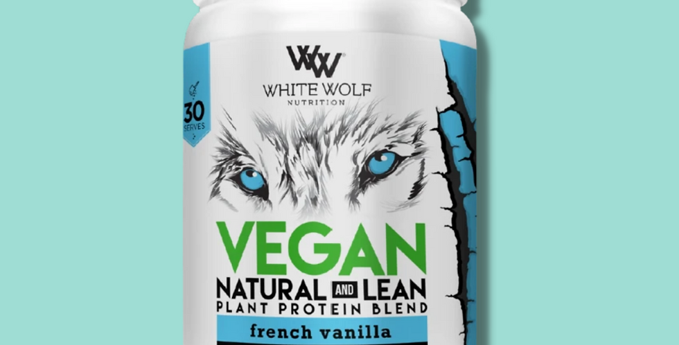 NATURAL LEAN PLANT PROTEIN | WHITEWOLF NUTRITION