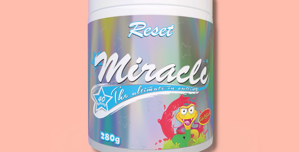MIRACLE   RESET NUTRITION