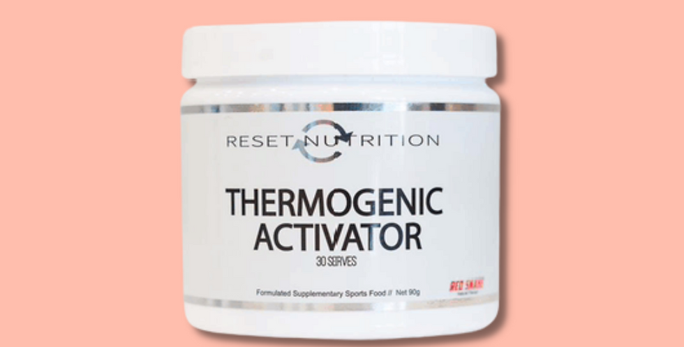 THERMOGENIC ACTOVATOR   RESET NUTRITION