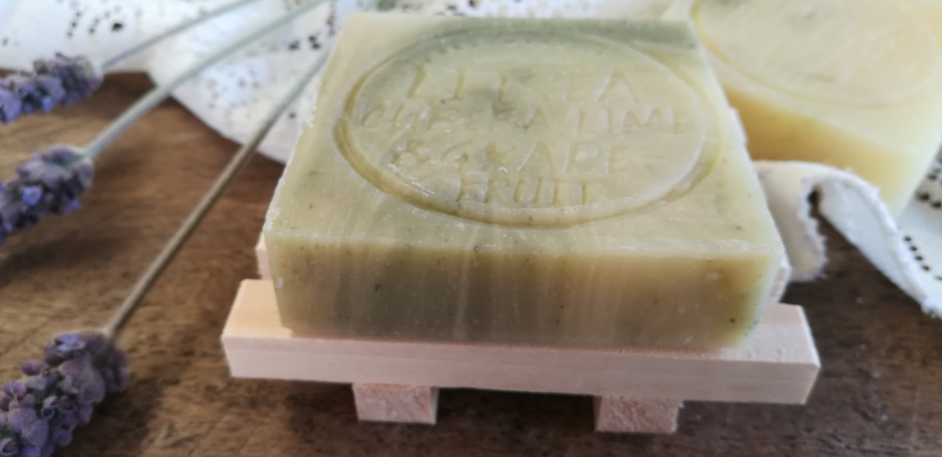 Litsea Cubeba, Lime & Grapefruit Soap Bar (Palm Oil Free)