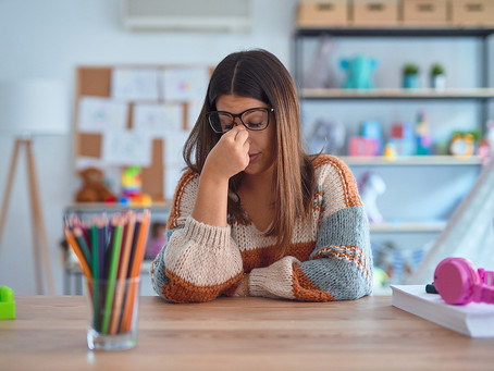 Teachers Tell Of Exhaustion, Fear & Anxiety Over Covid