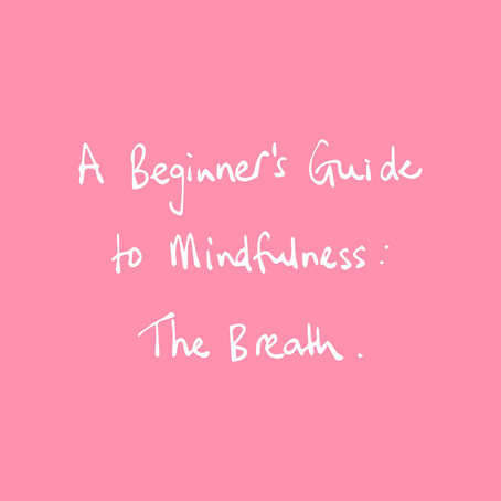 A Beginner's Guide to Mindfulness: The Breath