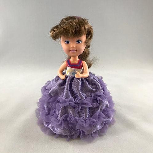 90s Purple Cupcakes Doll