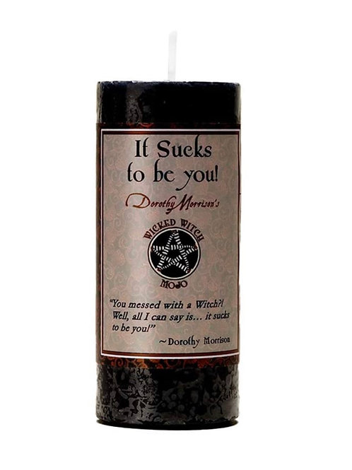 Wicked Witch Mojo Sucks to be You Candle