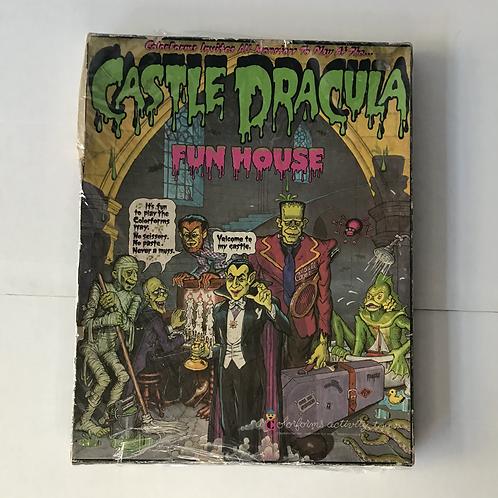 1976 Castle Dracula Colorforms Fun House